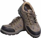 Ботинок безопасности кожи замши Mountaineering