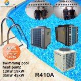 El termostato 27~240Medidor de cubo de agua Mantener 32 grados. C4.62 Anti Corrsion Titanio CP 19kw/35kw/70kw Bomba de Calor Aire calentadores de piscinas