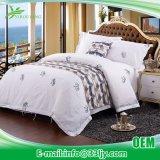 柔らかく贅沢な綿の病院によって印刷されるベッドカバー
