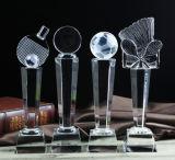 Concesiones cristalinas del trofeo de la dimensión de una variable de la estrella