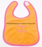 Busbana francese rossa del bambino del cotone ricamata marchio su ordinazione dei prodotti dell'OEM della fabbrica