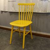 Silla colorida del café del marco del hierro de la silla de Windsor de la buena calidad