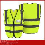Vêtement r3fléchissant de sûreté de visibilité élevée de la vente en gros 100% d'usine (W381)