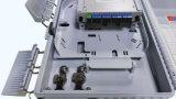 Casella Palo-Montata 24 Prot di termine della fibra del divisore FTTH del PLC