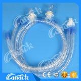 Circuito de respiración del ventilador de ánima lisa médico disponible de EVA