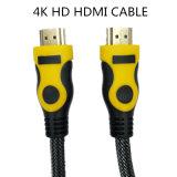 4K fuerte HDMI al cable del adaptador 3D 1.4V del cable HDMI de HDMI