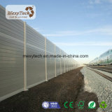 Aluminium-WPC Yard-Zaun der speziellen Entwurfs-im Freien einfachen Installations-