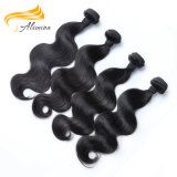 Волосы девственницы Weft цены по прейскуранту завода-изготовителя волос Remy способа перуанские