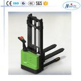 Tipo apilador eléctrico de la caminata de la paleta de la paleta de la capacidad eléctrica completa del apilador 1t/1.5t/2t