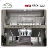 La decoración de lujo con muro cortina Contenedor para la construcción de casas prefabricadas