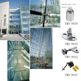 紡績工のくもクランプステンレス鋼のガラスくもクランプ付属品