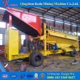 移動式金鉱山のトロンメルスクリーン機械