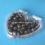 imballaggio di plastica della frutta del cestello libero di plastica del mirtillo di Cuore-Figura 125g
