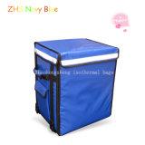 Grandi sacchetti di Tote più freddi isolati blu per alimento