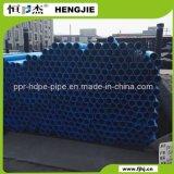 PE100 zwarte met de Blauwe Plastic Waterpijp van de Lijn