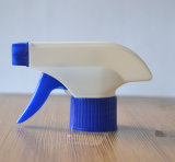 プラスチックハウジングのクリーニングのトリガーのスプレーヤーのびんの上のふた