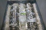Macchina di plastica della trinciatrice della doppia singola asta cilindrica resistente da vendere