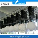 Strumentazione di illuminazione chiara della fase della sfera della discoteca di natale LED RGB