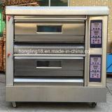 Máquina do pão do cozimento, 2 forno elétrico da bandeja da plataforma 4 (ISO do CE)