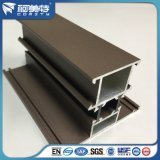 Brown-thermische Bruch-Puder-Beschichtung-Aluminiumprofil für Fenster