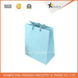 Usine de papier de l'environnement Carte Blanche un sac de shopping avec poignée