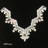 collier chimique de lacet de lacet de collier de motif de nuage de 35*25cm pour la décoration Hme972