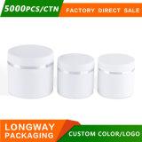 30g 50g 100g PPの高品質の贅沢で装飾的なクリーム色の瓶