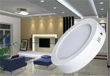 LED redondos de superfície da luz do painel do teto
