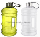 A garrafa de água plástica da ginástica, aptidão ostenta a garrafa de água