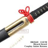 Lixívia Alma corte de faca Katana Espada 1: 1 HK9440 112 cm