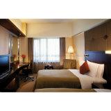 OEM 단단한 나무 두 배 침대 별 세개 호텔 가구 세트 (S-39)