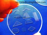 Transmitância elevada Baibo Square Placa de vidro de quartzo