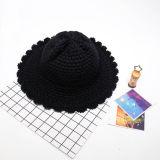 Chapeau fait sur commande de position de chapeau de l'hiver de couleur de mode divers