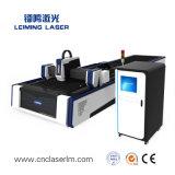 Tagliatrice del laser della fibra della Tabella della spola per la lamina di metallo Lm3015A3