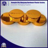 Tapón de rosca de aluminio/tapa de PET, PP Jar/botella