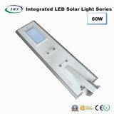 60W LED intégrée Rue lumière solaire avec capteur PIR