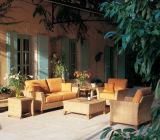 Nuevo estilo de alta calidad transversal de ratán Jardín Sofá