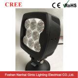 Venta caliente 80W 6 pulgadas - luz de trabajo del CREE LED del poder más elevado para campo a través (GT1025-80W)