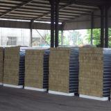 легкая панель сандвича шерстей утеса строительного материала установки 950width