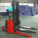 1-2 ton de palets elevador eléctrico Apilador automático Powered alcanzar apiladora