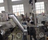 Extrusora de doble paso de plástico bolsas tejidas PP de la línea de peletización