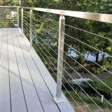 内部または外面のためのステンレス鋼ケーブルの柵の棒の住宅の手すり