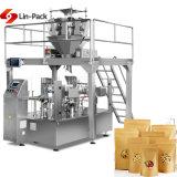2,5 kg écrous & arachide haute précision de pesage à fonctionnement automatique Machine d'emballage pochette avec peseur Multihead Mr8-200rg