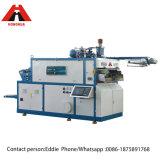 Tapa de plástico semi-automático máquina de formación de material PP