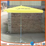 2*2 M a todo color cuadrados Priniting Windproof sombrilla paraguas