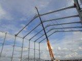 Estrutural de aço da grade da construção de aço para a plaza comercial