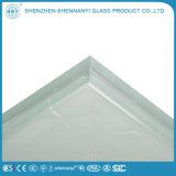 3mm-25mmの構築の平らな固体安全印刷緩和されたガラス