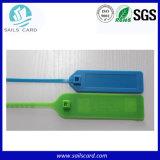 De UHF Passieve Plastic Markering van de Verbinding RFID voor het Volgen van de Logistiek