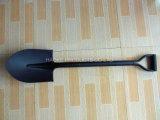 Острый лопаткоулавливатель лопаты с короткой стальной ручкой Tdj-01