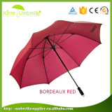 Guarda-chuva do presente do golfe do guarda-chuva do punho do guarda-chuva do golfe dos homens quentes da venda